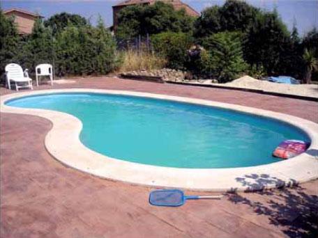 Coronamientos para piscinas